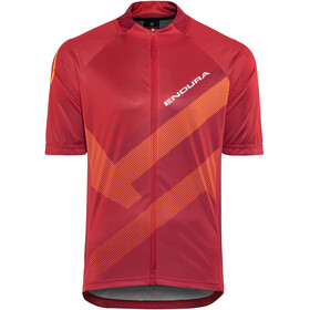 Endura Hummvee Ray Bike Jersey Shortsleeve Men orange/red